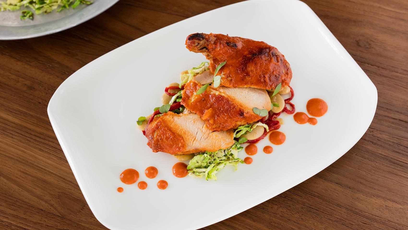 Ave Cayman Piri Piri Chicken Dish