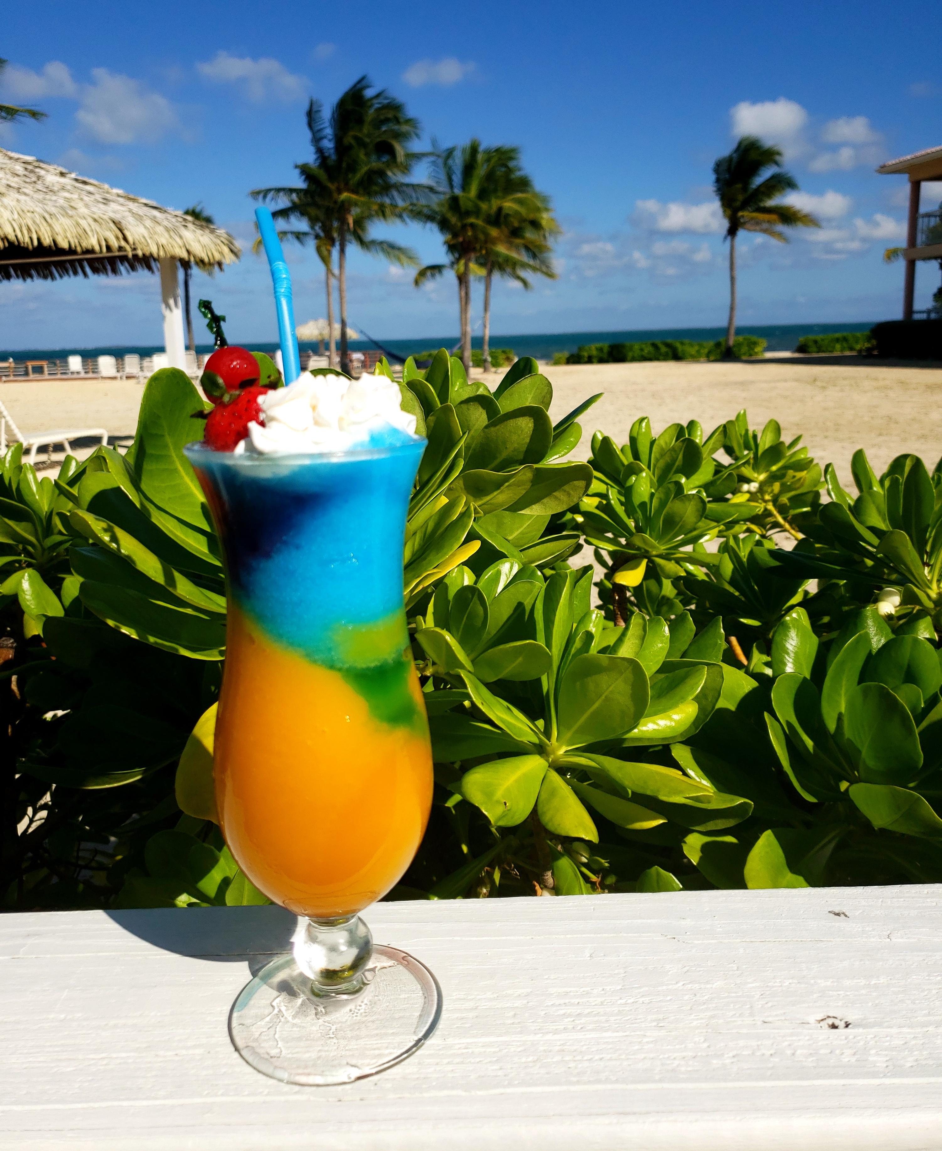 Blue Iguana Grill Cayman Cocktail