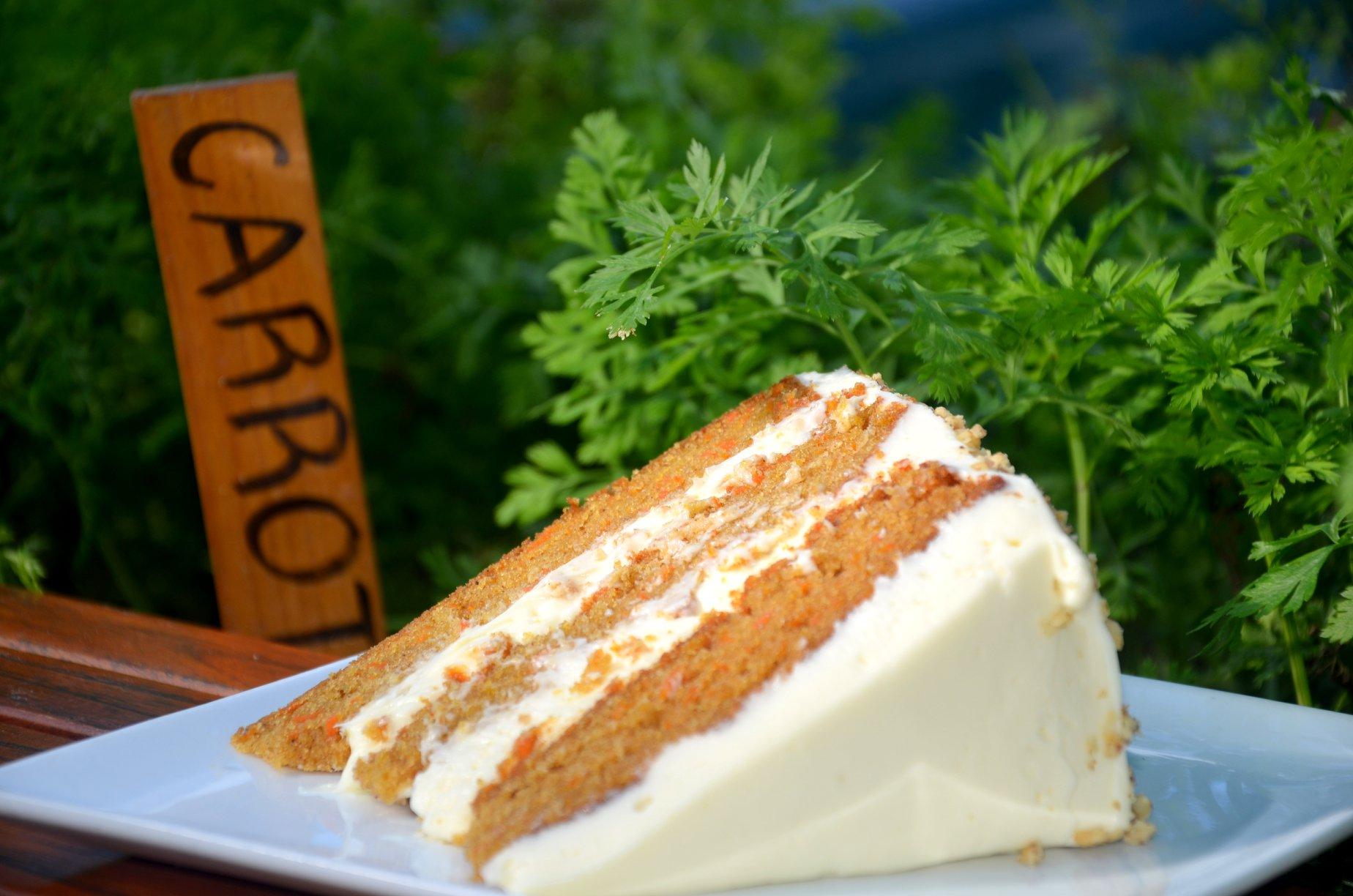 Caboose Carrot Cake Dessert