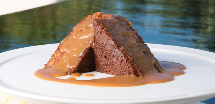 Calypso Grill Sticky Toffe Pudding