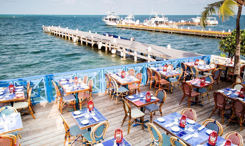 Calypso Grill Outside Deck