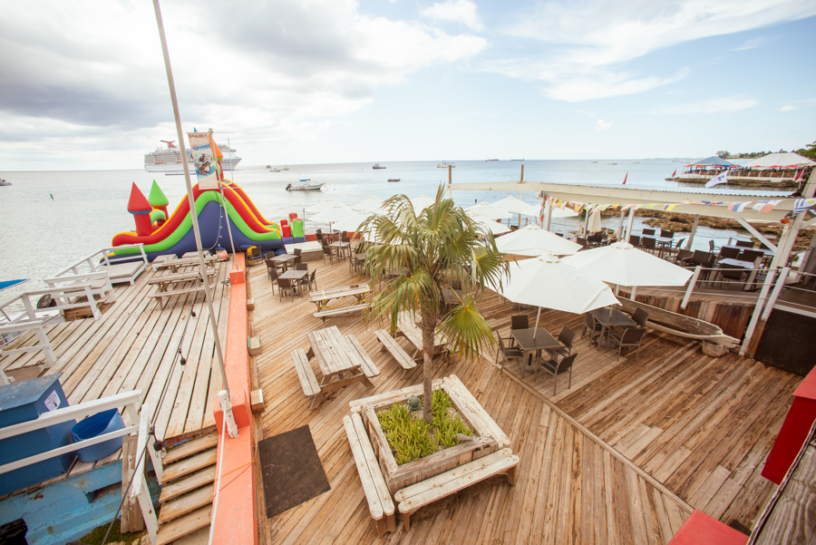 Cayman Cabana Outside Deck