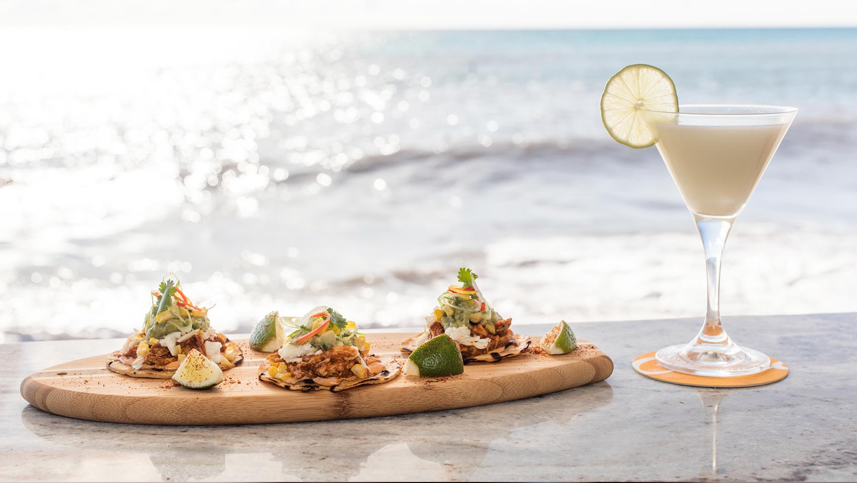 Coccoloba Tacos and Cocktail Oceanfront View