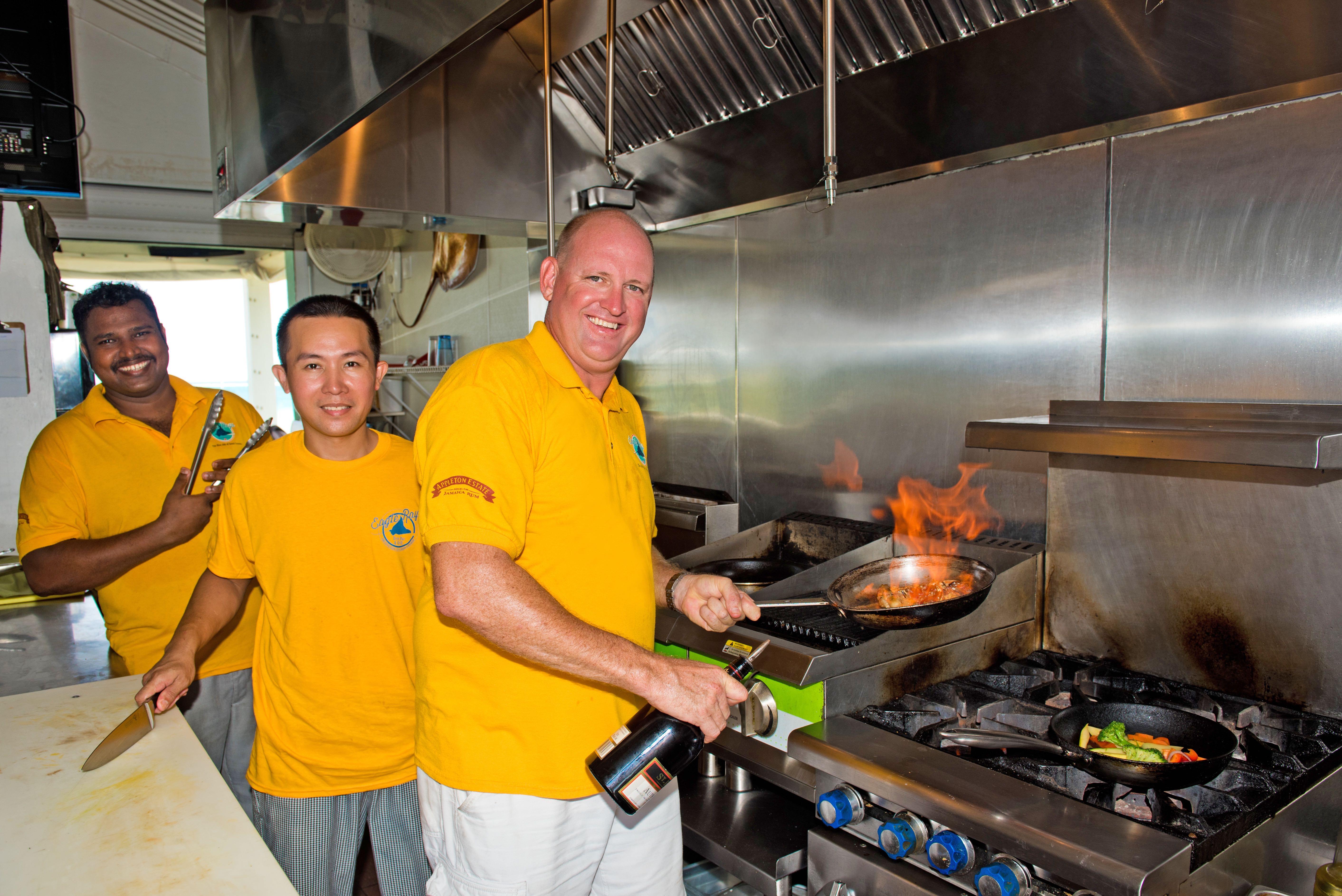 Eagle Rays Cayman Chefs