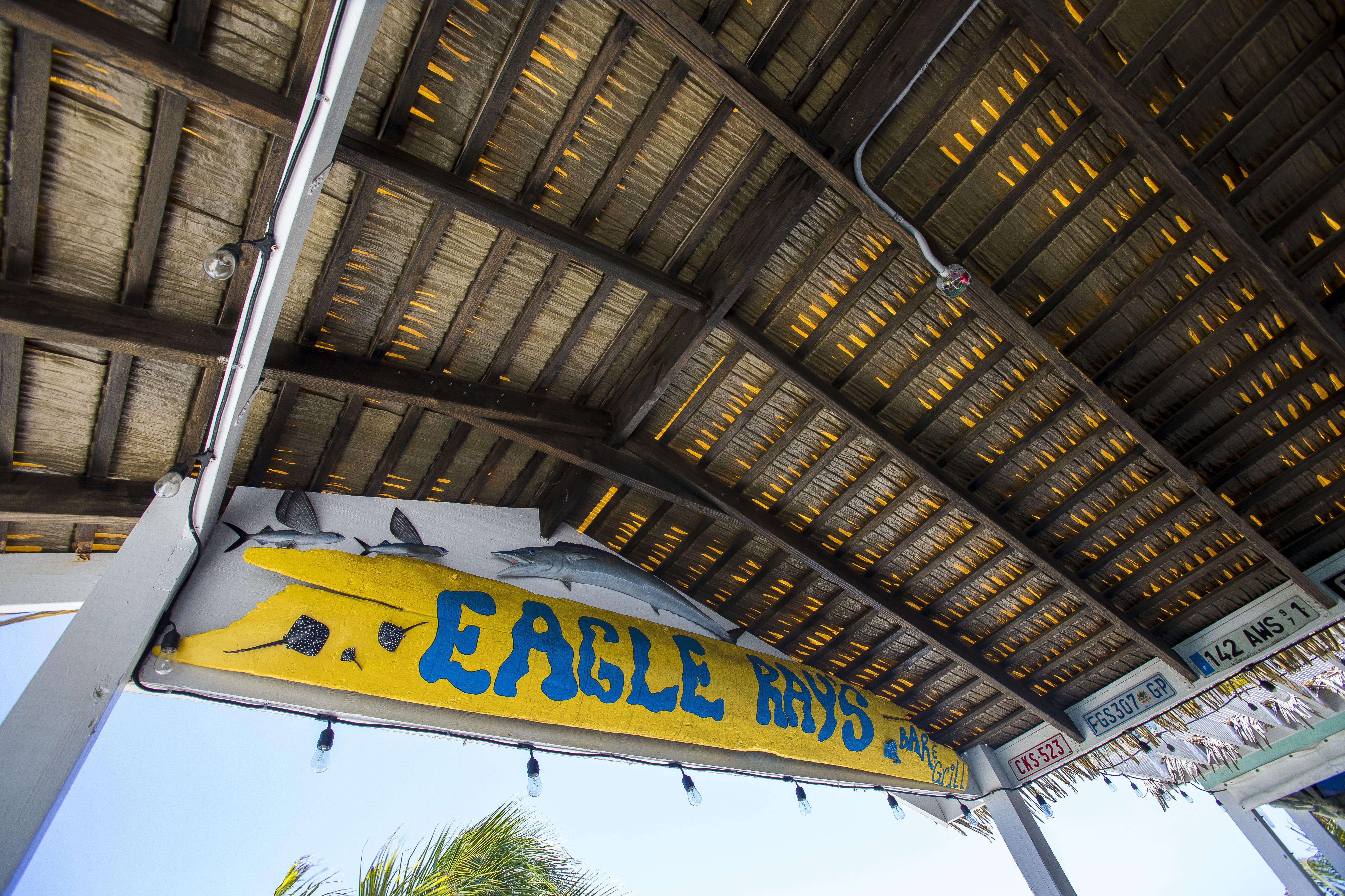 Eagle Rays Cayman Entrance