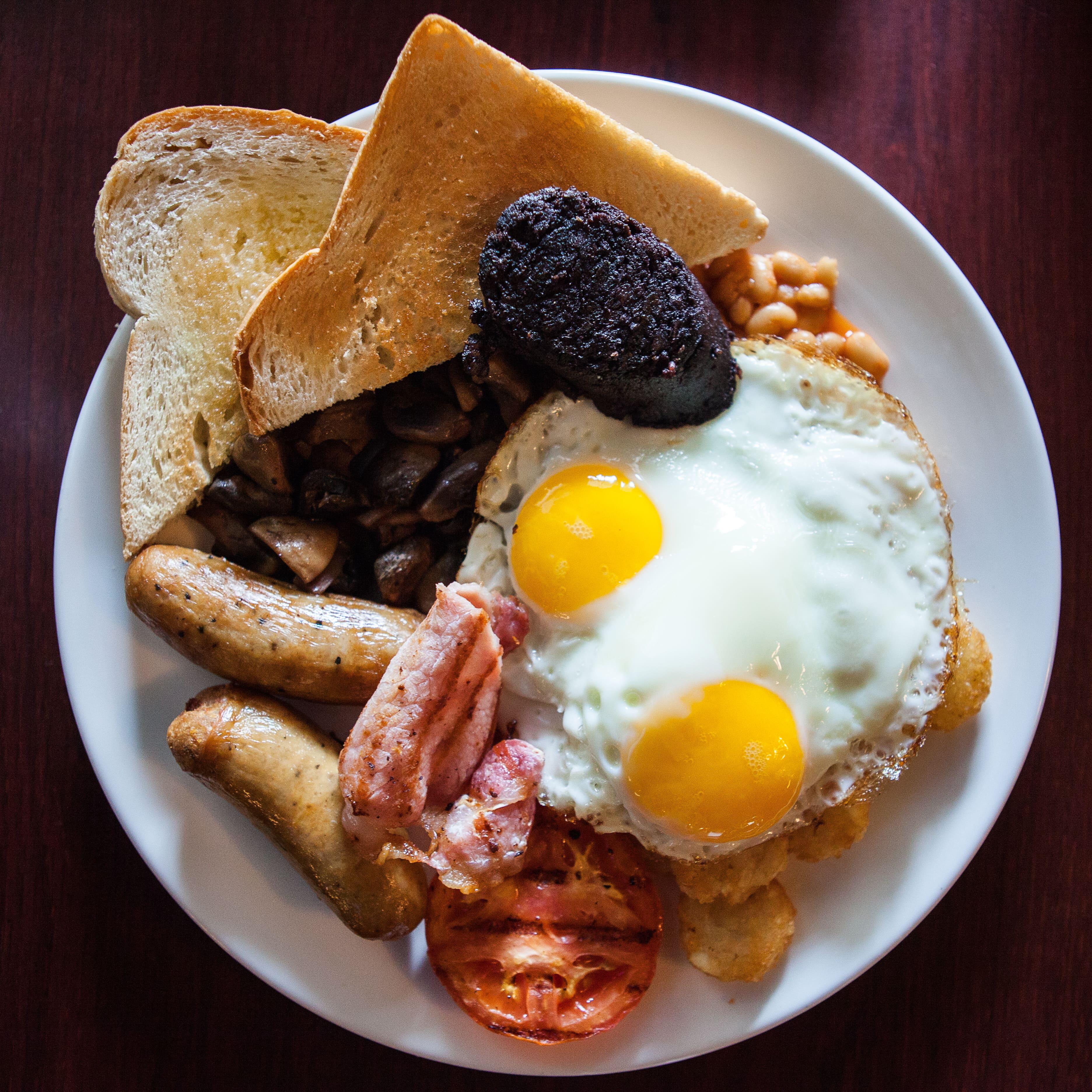 Fidels Cayman Breakfast