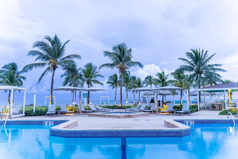 Blue Iguana Cayman Outside Pool