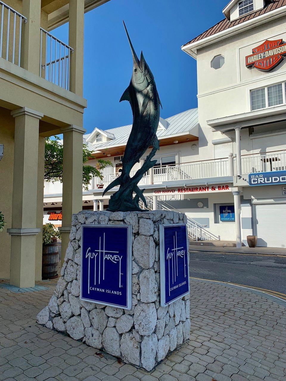 Guy Harvey Cayman Fish Statue