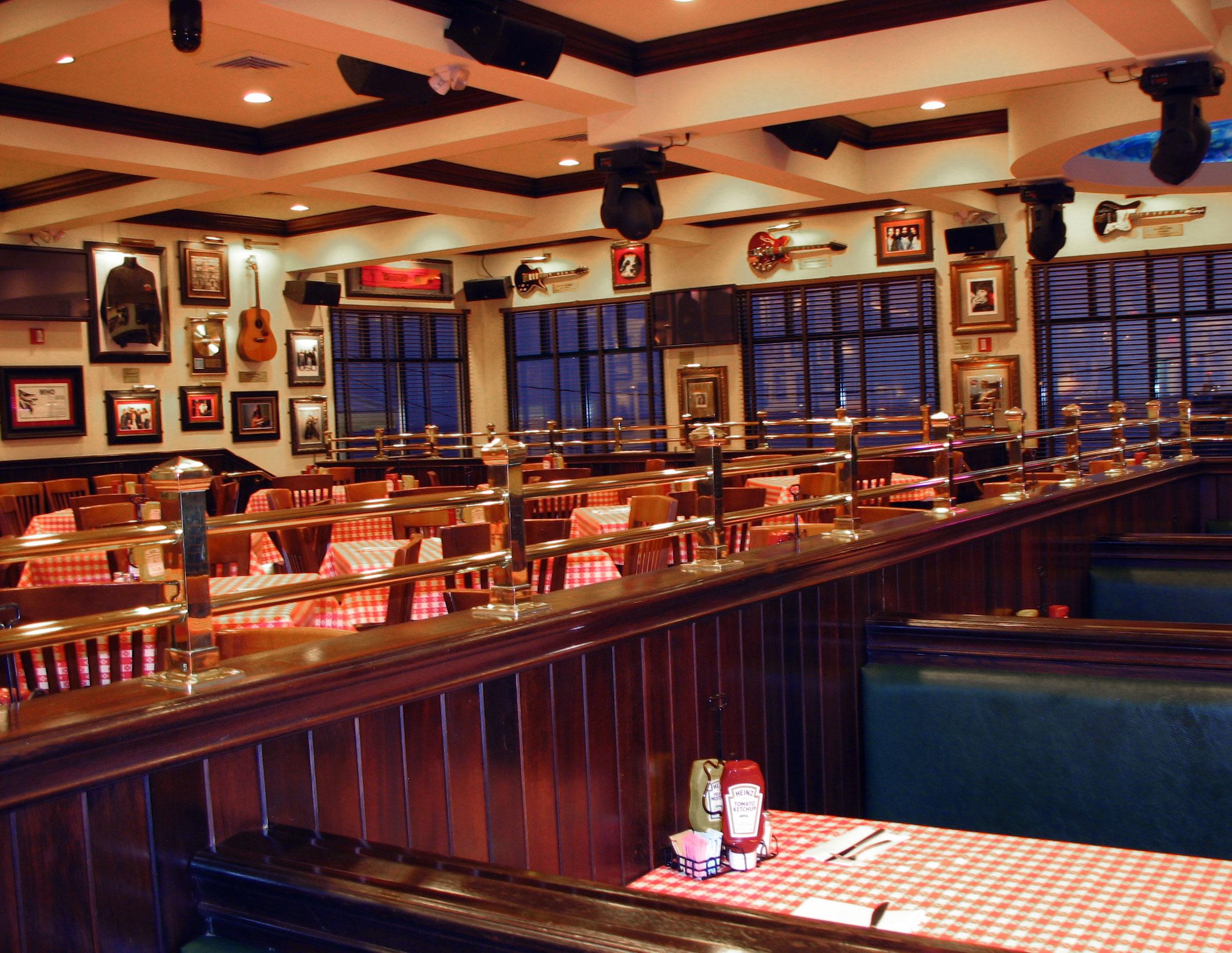 Hard Rock Cafe Interior Bar
