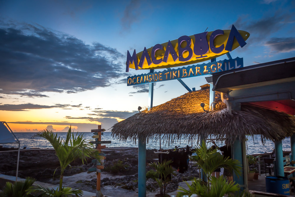 Entrance of Macabuca Cayman