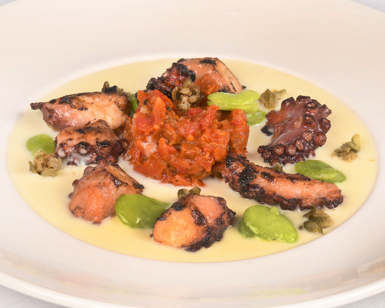 Papagallo Cayman Octopus Dish