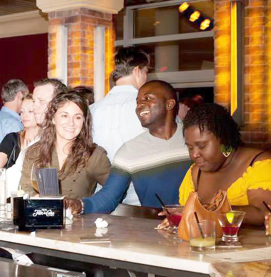 People at Karoo Bar Socialising