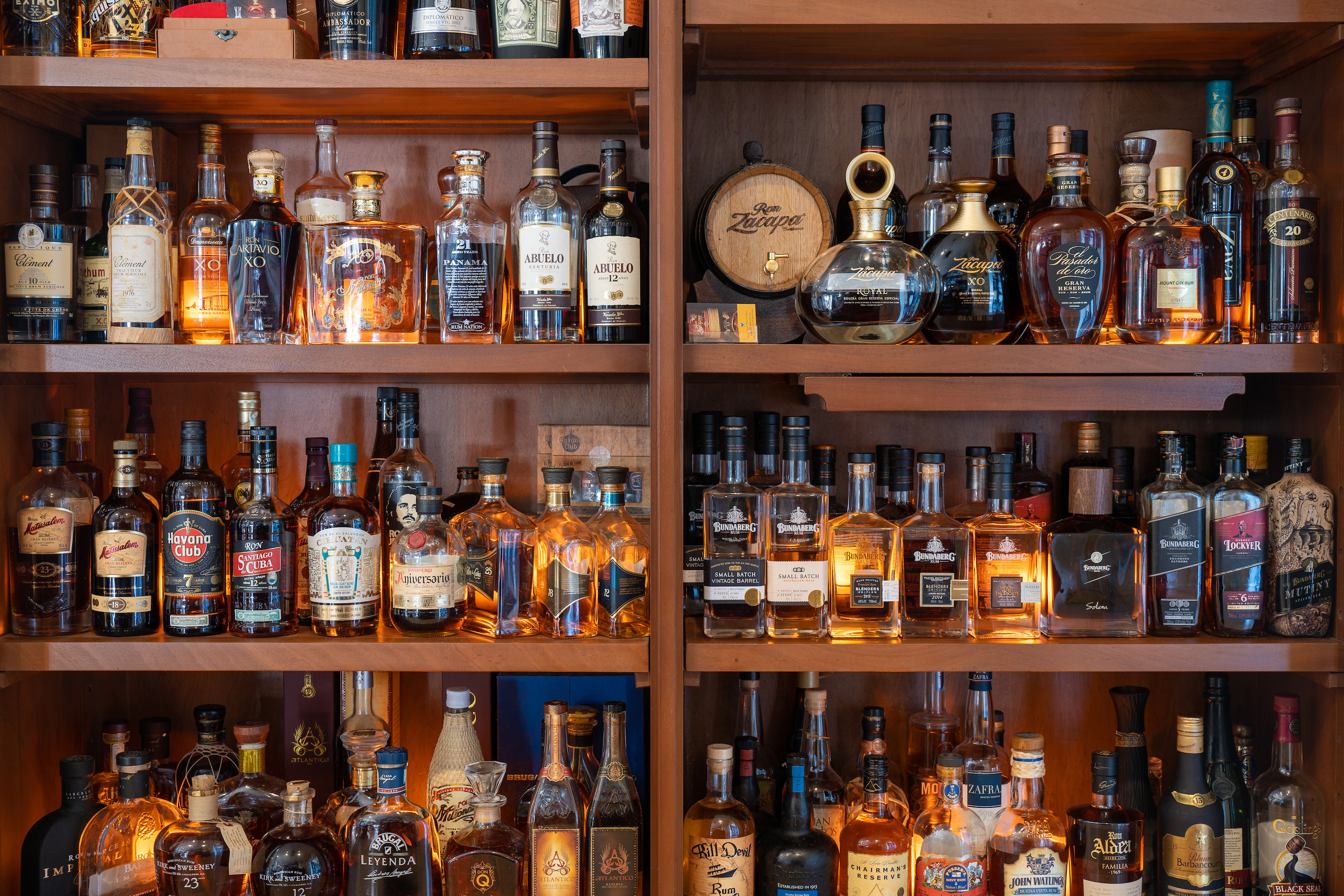 Tukka Cayman Rum Cabinet Selection