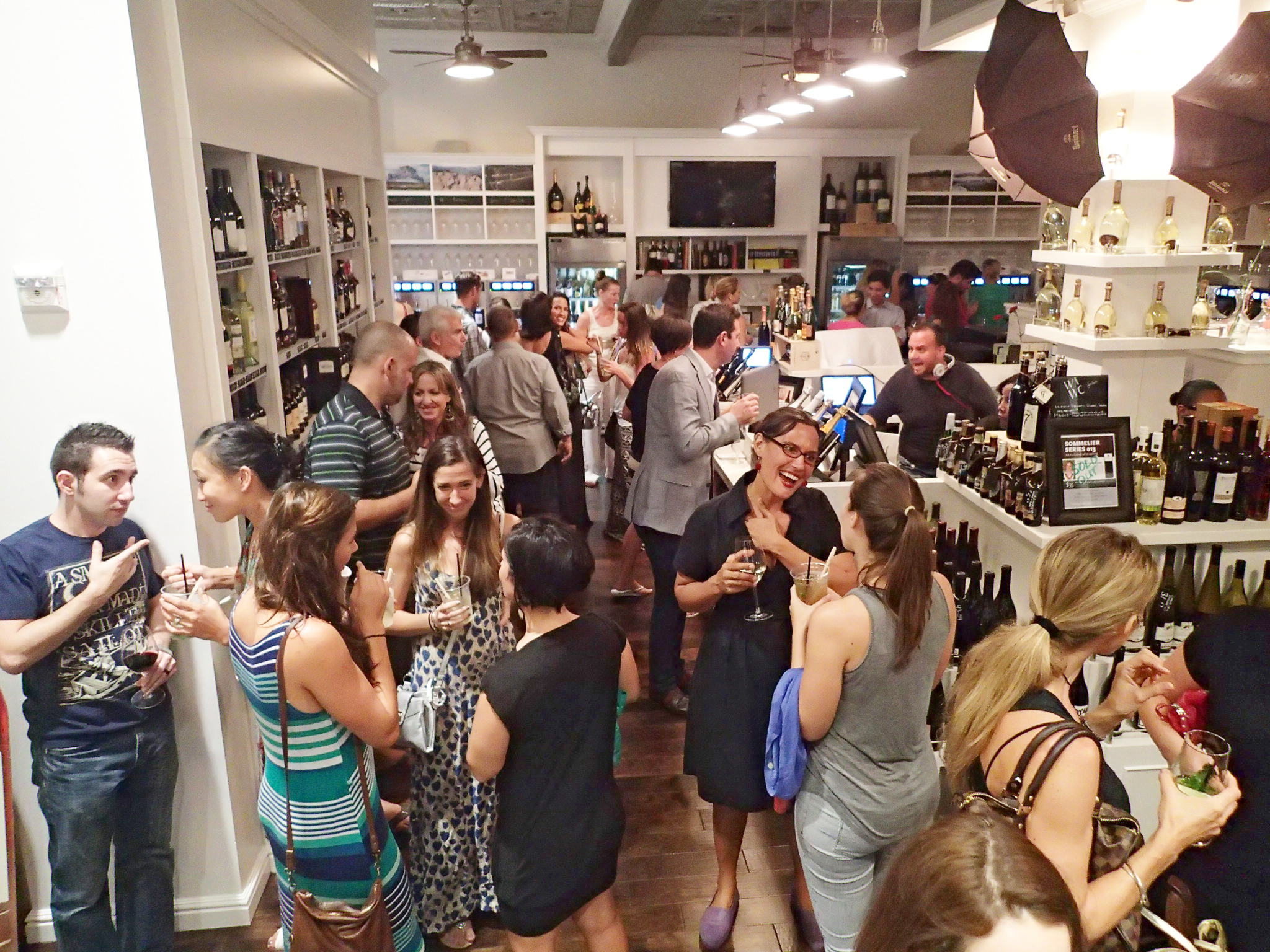 Social Event at West Indies Wine Company Cayman