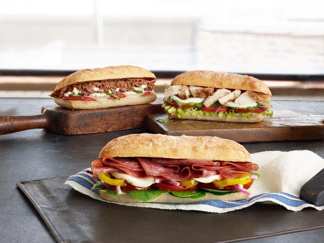 Subway Cayman Sandwiches