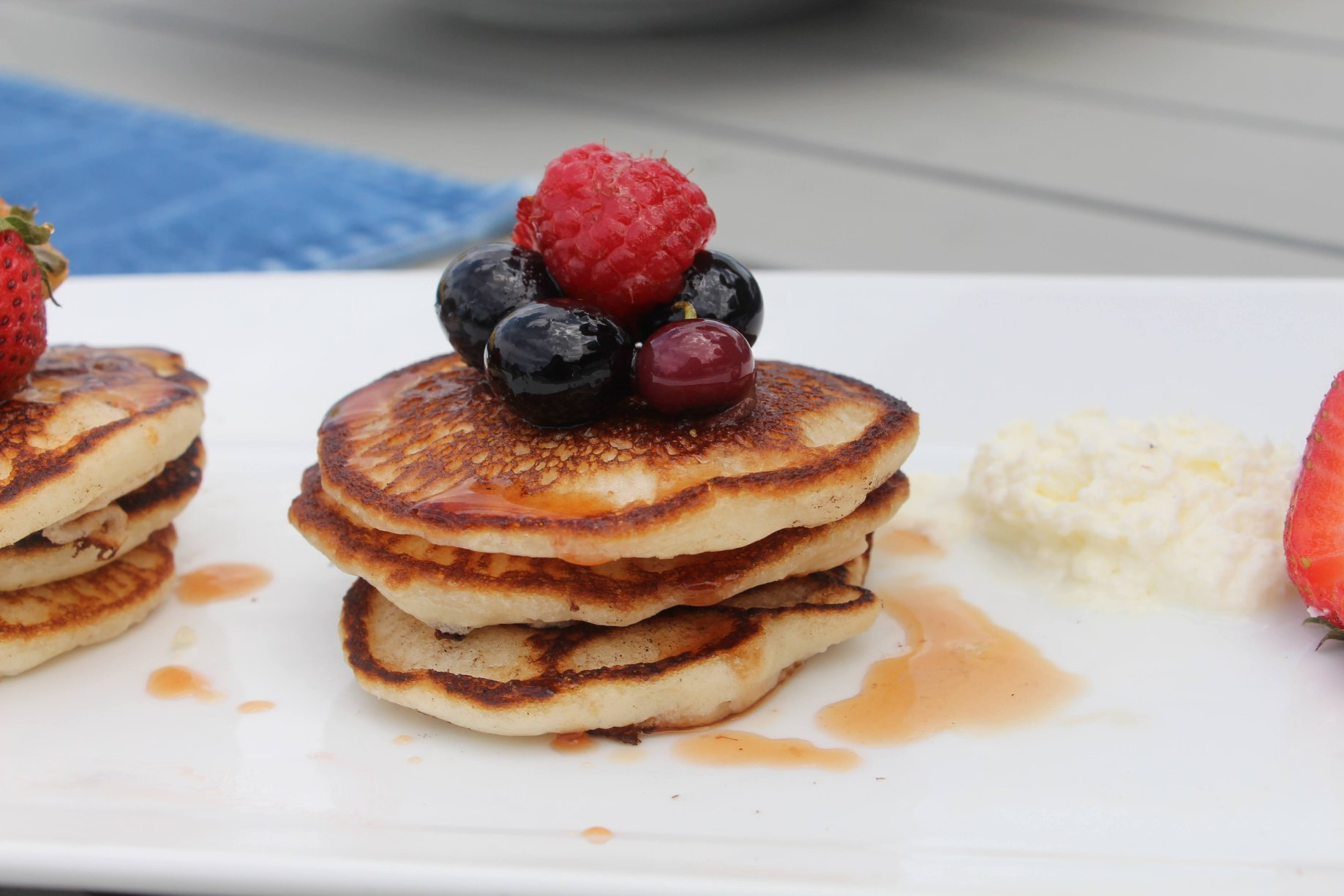 The Wharf Cayman Breakfast Pancakes