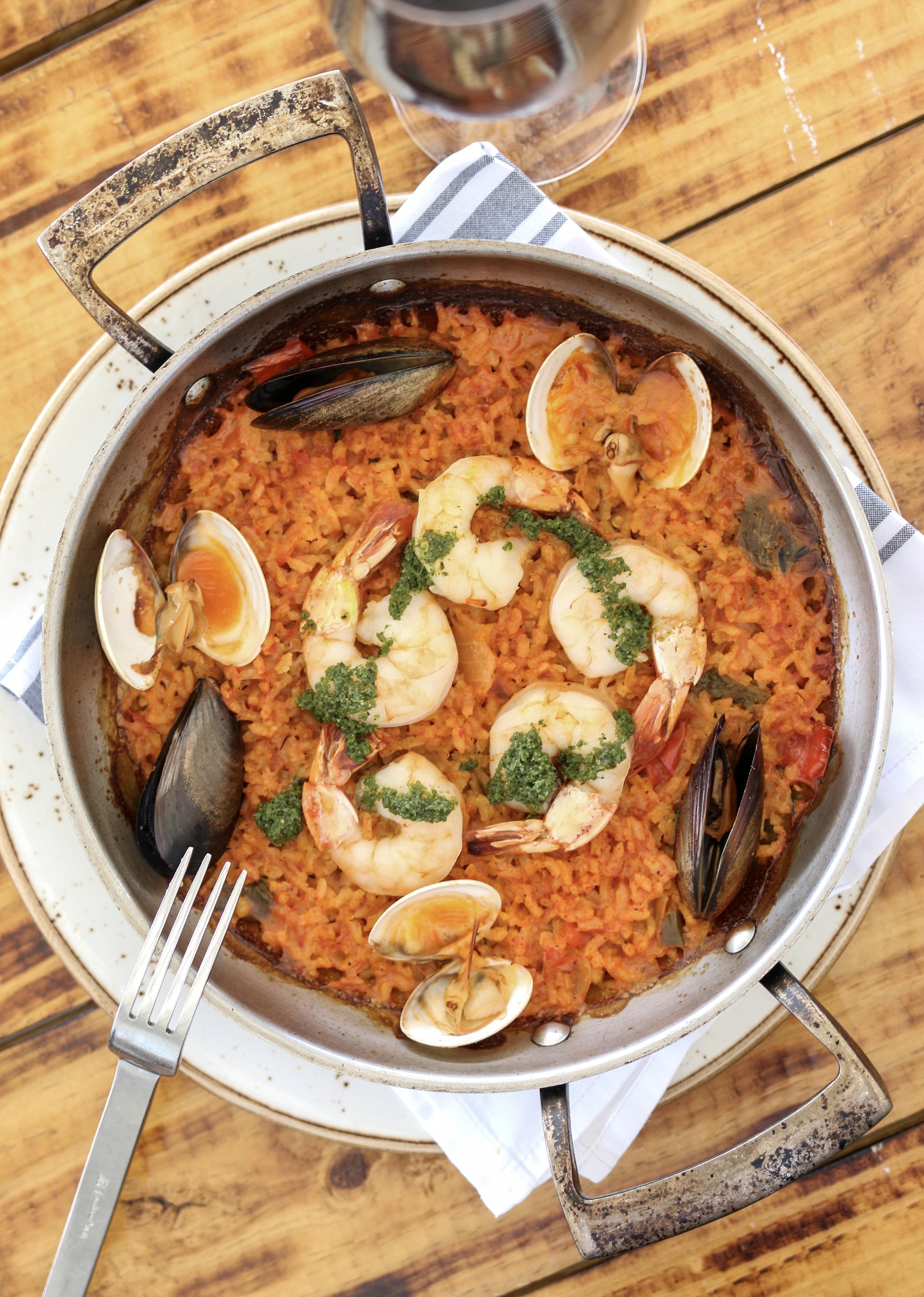 Veranda Seafood Paella