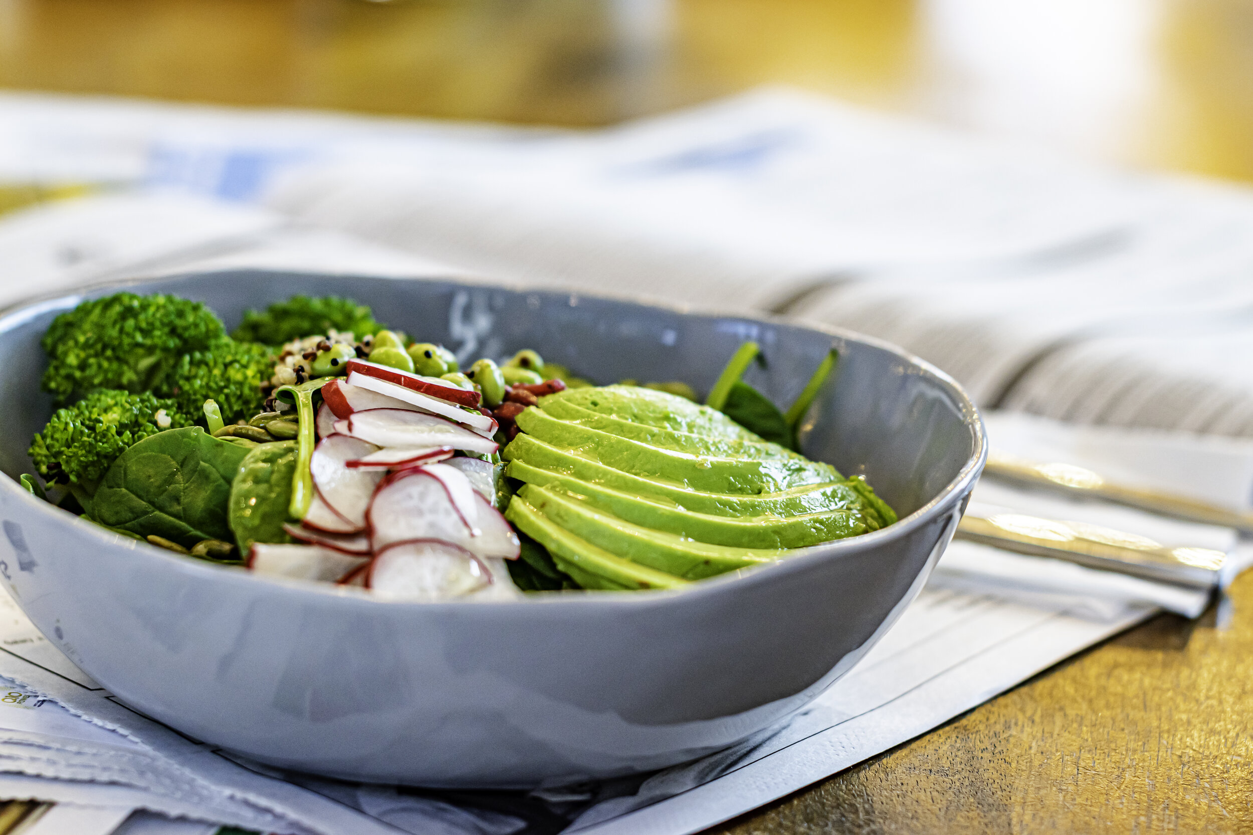 Water and Elephant Salad Bowl
