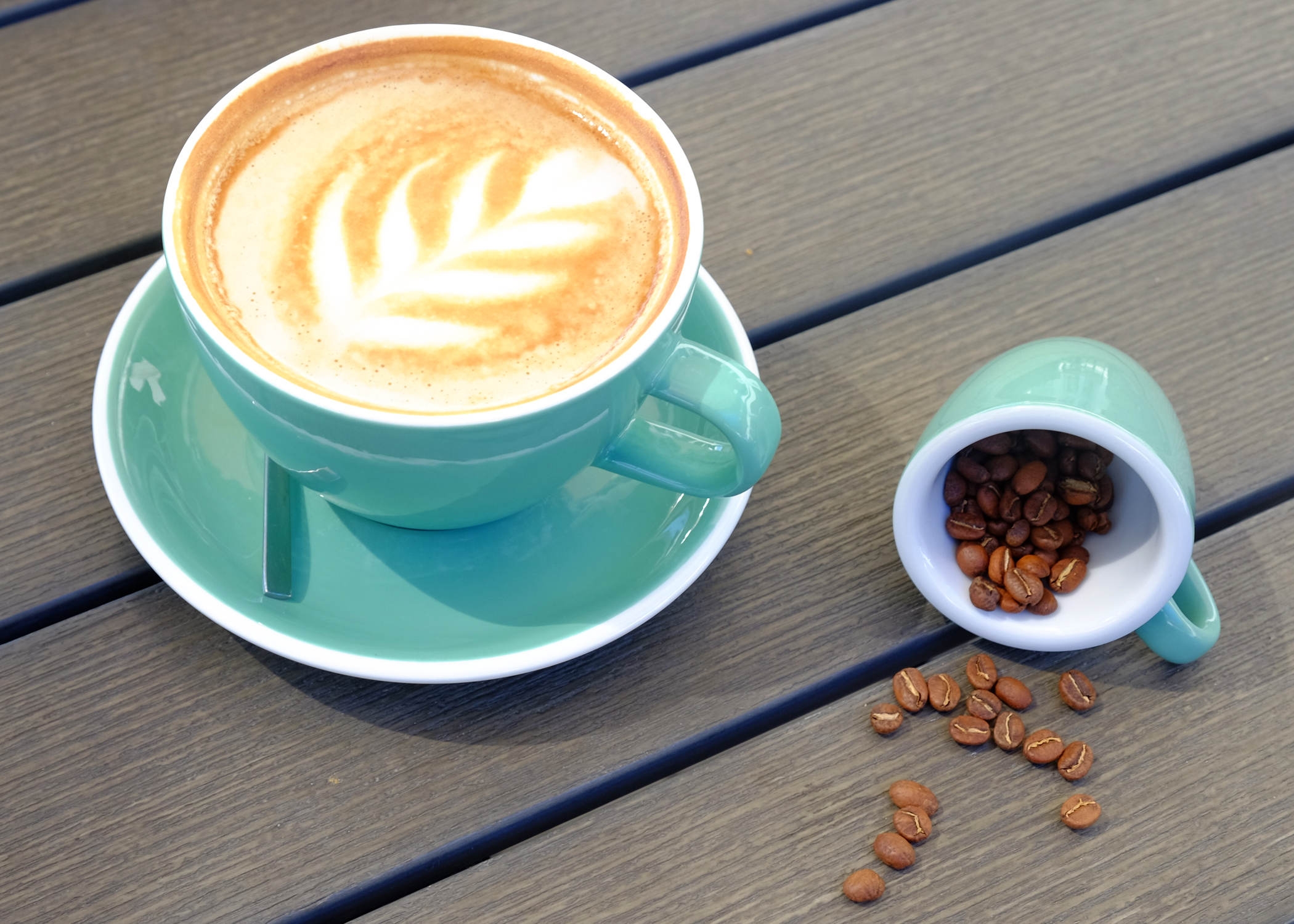 Water and Elephant-coffee