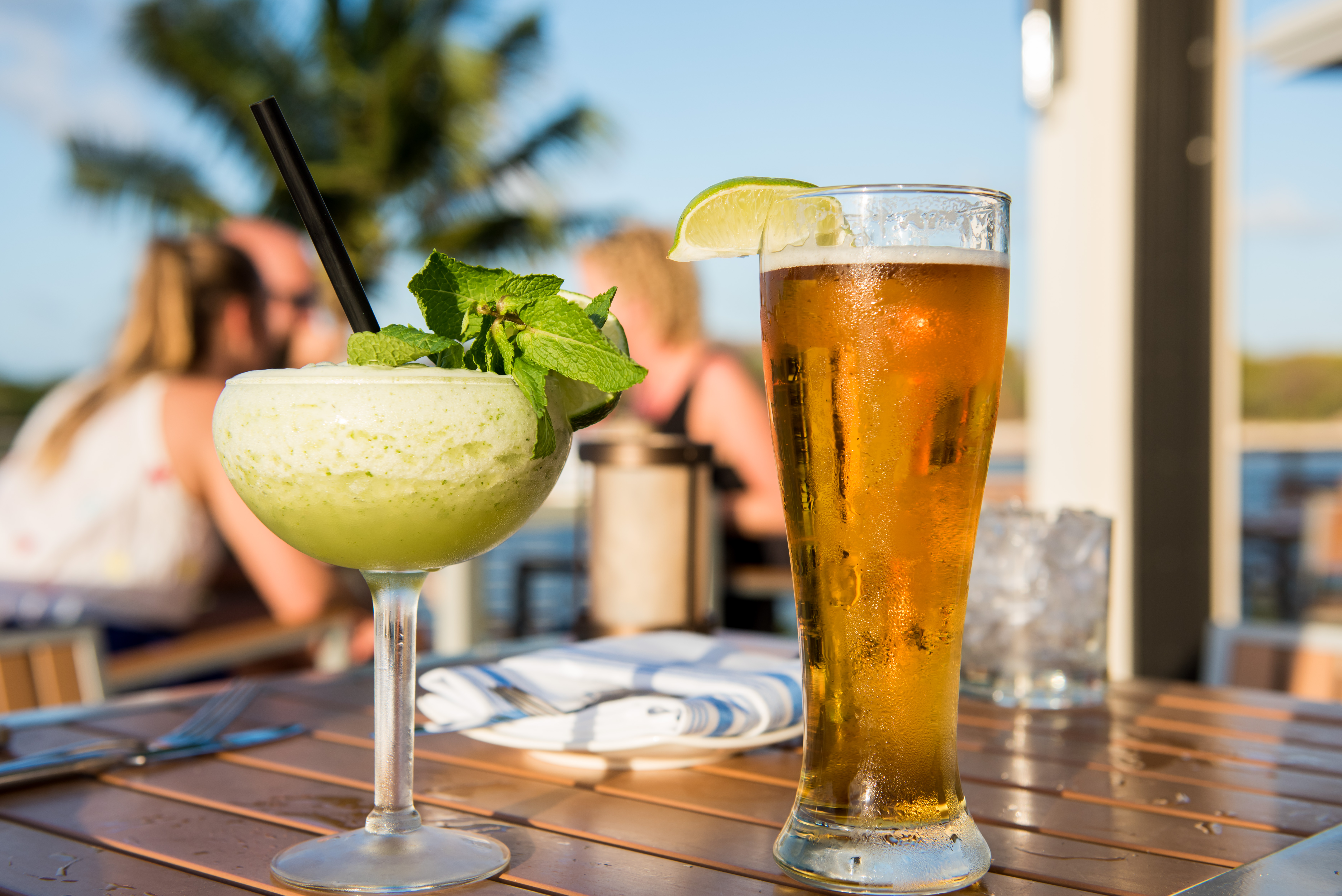 Beer and Cocktail at Bacaro Cayman