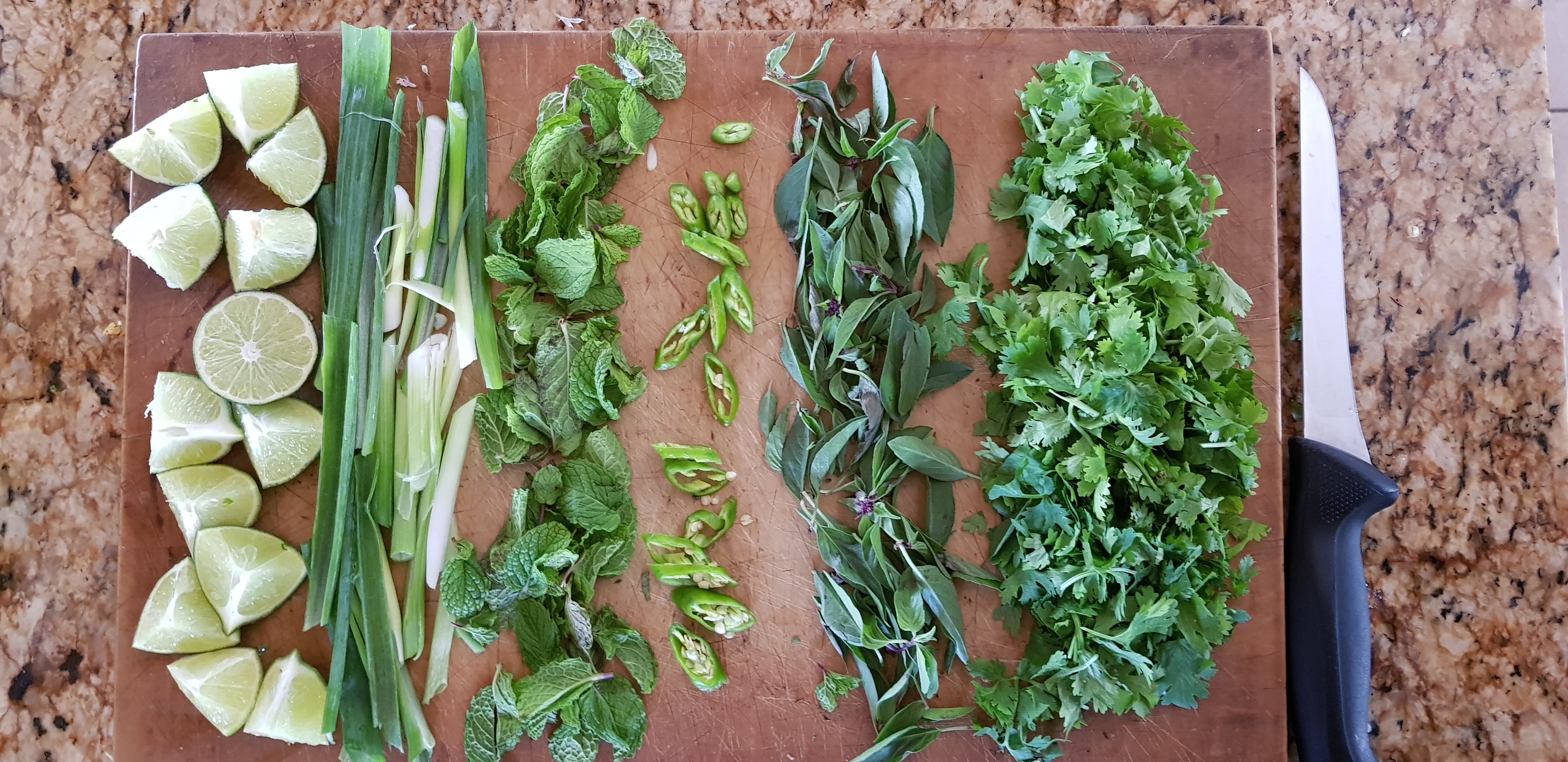 greens-on-cutting-board