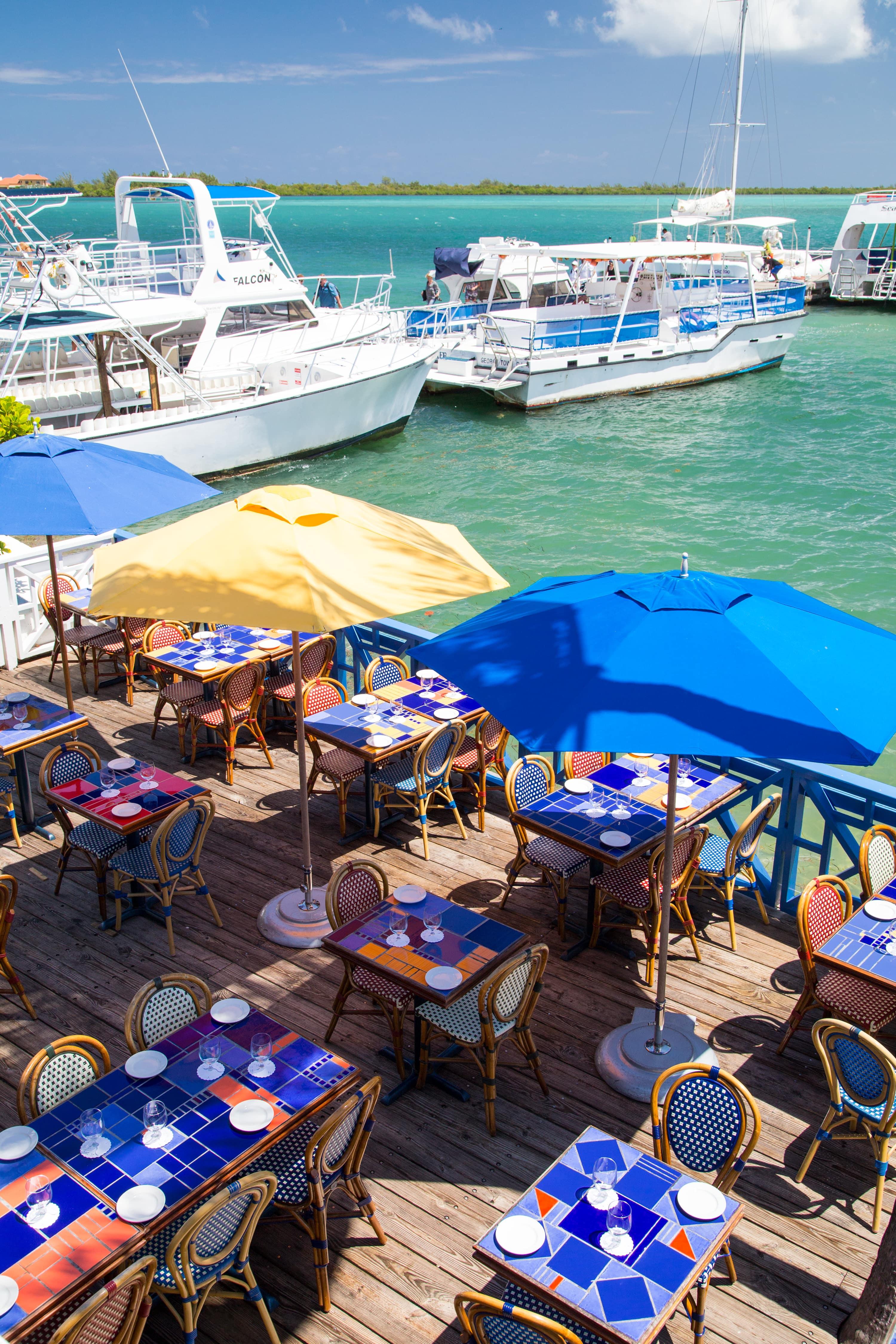 Calypso Grill Deck Ariel Shot